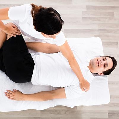 female chiropractor dural